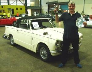 Lol with his Vitesse after winning the Masters!