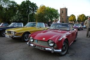 A host of Triumphs at Swettenham