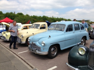 The full Standard-Triumph range was on show at STAR 90